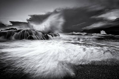 Photograph - Shelter Cove Storm by PhotoWorks By Don Hoekwater