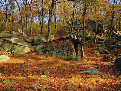 Photograph - Shelter In Harriman For At Hikers by Raymond Salani III