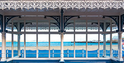 Photograph - Shelter On Promenade In Weymouth by Colin Rayner