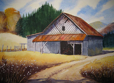 Boone Painting - Shelter by Shirley Braithwaite Hunt