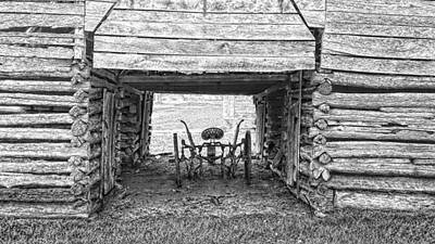 Photograph - Sheltered Plow by Joe Duket