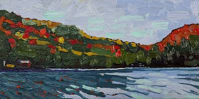 Sheltered Shores Original by Phil Chadwick