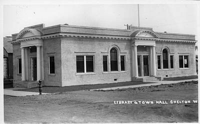 Photograph - Shelton Town Hall  Building by Unknown