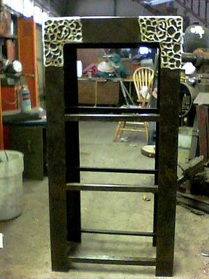 Sculpture - Shelves For Vanity Set by Don Thibodeaux