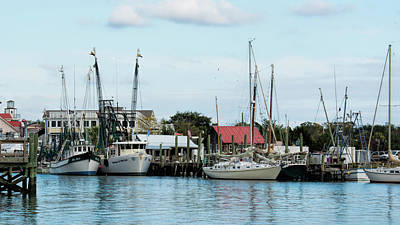 Shem Creek Art Print