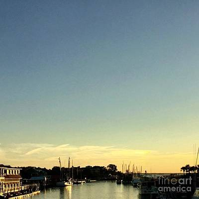 Photograph - Shem Creek by Flavia Westerwelle