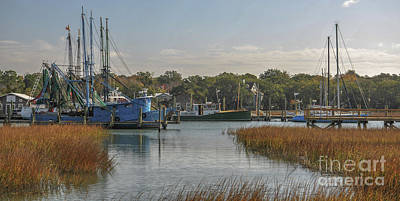 Photograph - Shem Creek Island Crawl by Dale Powell