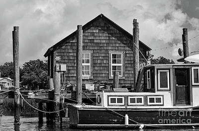 Photograph - Shem Creek Shimmer by Dale Powell