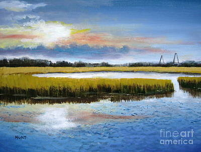 Shem Creek Sky Art Print