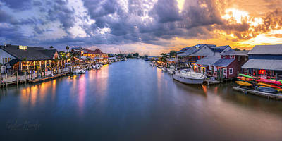 Shem Creek Art Print by Taylor Franta