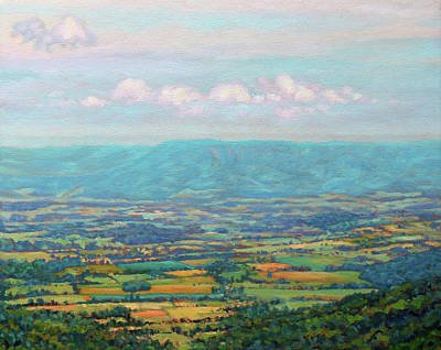 Painting - Shenandoah Blue by Bonnie Mason