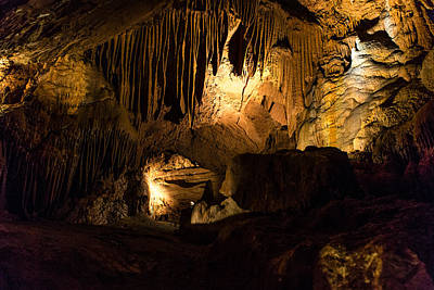 Photograph - Shenandoah Caverns 12 by Joshua M Hoover