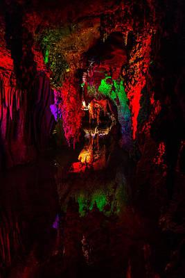Photograph - Shenandoah Caverns 13 by Joshua M Hoover