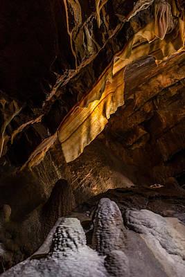 Photograph - Shenandoah Caverns 3 by Joshua M Hoover