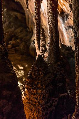Photograph - Shenandoah Caverns 9 by Joshua M Hoover