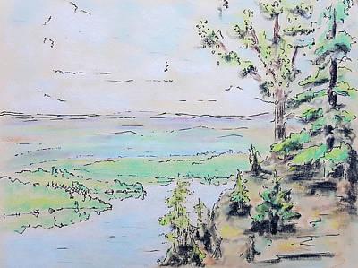Pastel - Shenandoah by Dave Martsolf