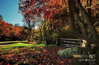 Photograph - Shenandoah Fall by Randy Rogers