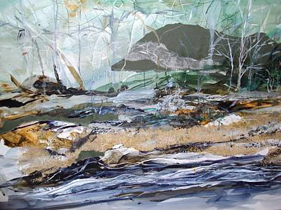 Linda King Painting - Shenandoah by Linda King