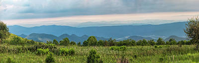 Photograph - Shenandoah Meadow Pano by Jemmy Archer