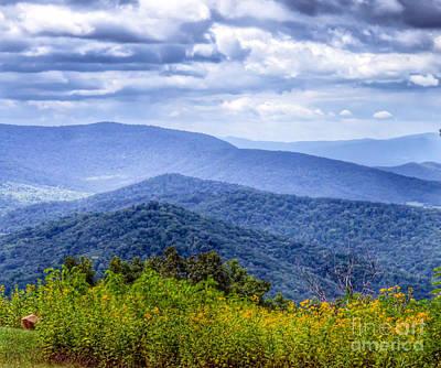 Shenandoah National Park Photograph - Shenandoah National Park - Mountain Views by Kerri Farley