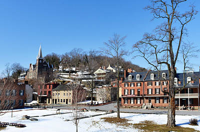 Photograph - Shenandoah Street - Harpers Ferry by Dana Sohr