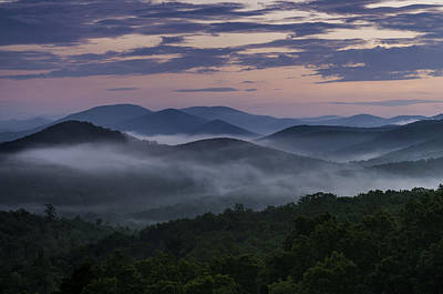 Shenandoah Sunrise Art Print by Kevin Blackburn