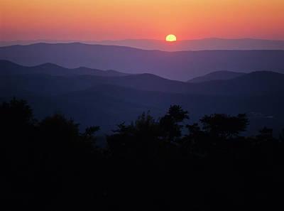 Photograph - Shenandoah Sunset by Robert Potts