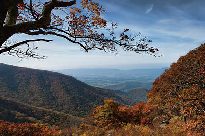 Photograph - Shenandoah Valley From The Mountain Top by Lara Ellis
