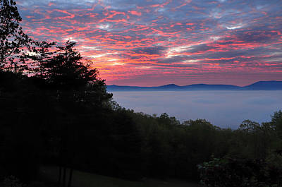 Photograph - Shenandoah Valley Morning Serenity by Lara Ellis