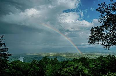Photograph - Shenandoah Valley Rainbow by Lara Ellis