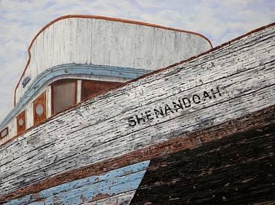 Wa Painting - Shenandoah by Xochi Hughes Madera