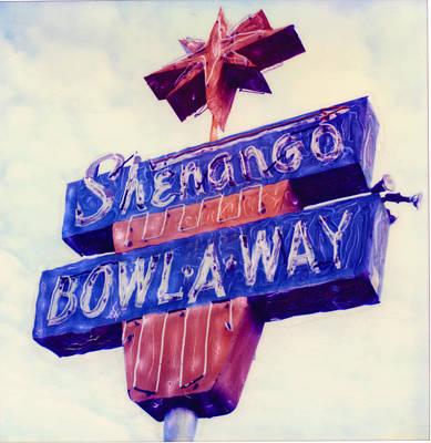 Shenango Bowl-a-way Art Print by Steven  Godfrey