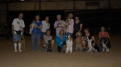 Photograph - 2nd Agility Class by Patti Colston