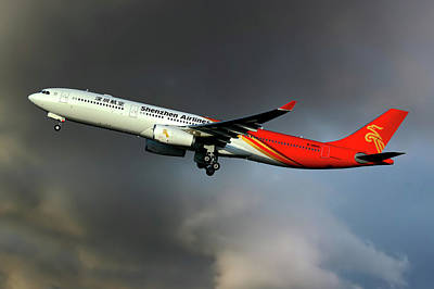 Shenzhen Airlines Photograph - Shenzhen Airlines by Smart Aviation