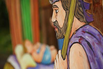 Shepherd Art Print by Gaspar Avila