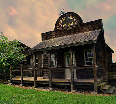 Photograph - Shepherd Sawmill - Jolly Mill Park by Deena Stoddard