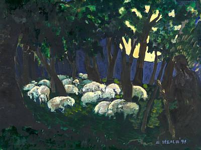 Shepherds Watch Art Print by Ethel Vrana