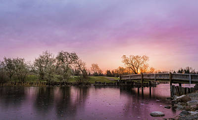 Photograph - Sheran Park Sunrise by Dwayne Schnell