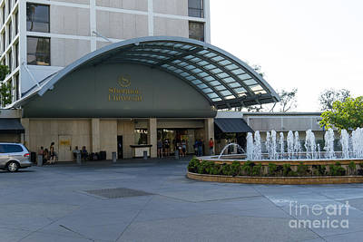 Photograph - Sheraton Universal Hotel Hollywood California Dsc3622 by Wingsdomain Art and Photography