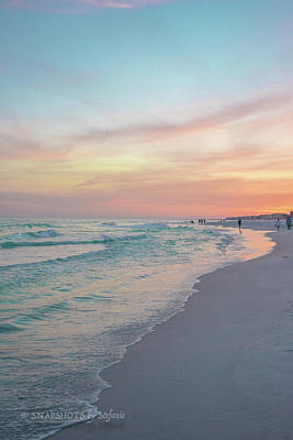 Photograph - Sherbert Sunset by Stefanie Silva