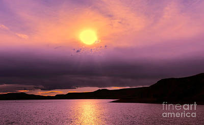 Photograph - Sherbert Sunset by Susan Warren