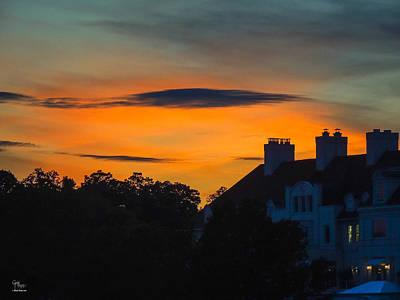 Photograph - Sherbet Sky Sunset by Glenn Feron