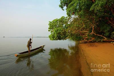 Photograph - Sherbro Island Rush Hour - Sierra Leone by Julian Wicksteed