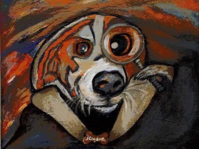 Painting - Sherdog Holmes by Regina Brandt