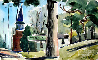 Suggestive Painting - Shererville Impression by Charlie Spear