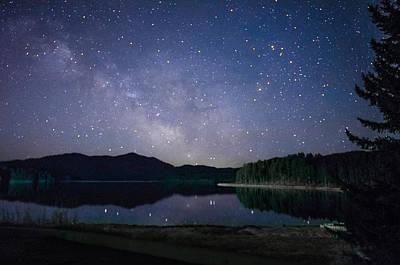 Photograph - Sheridan Lake Milky Way by Dakota Light Photography By Dakota