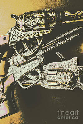 Sheriff Guns Art Print