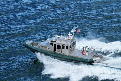 Photograph - Sheriff Marine Patrol by Arthur Dodd