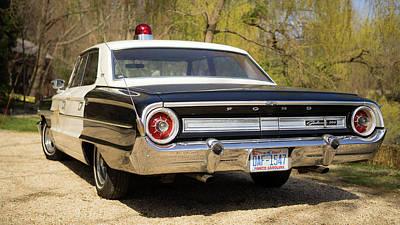 Policeman Wall Art - Photograph - Sheriff's Car by Michael Weber