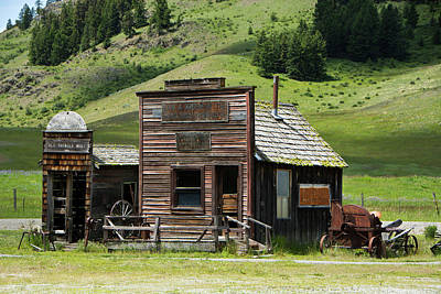 Photograph - Sheriff's Office by Doug Matthews